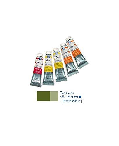 Lefranc & Bourgeois - Fine, feine Öl - Farbe, 40ml Tube - Grüne Erde