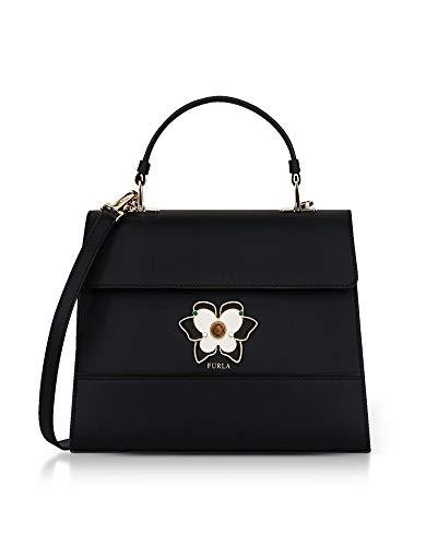 Furla Luxury Fashion Mujer 961610 Negro Bolso De Mano