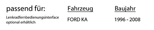Ford-KA-Autoradio-Radio-Blaupunkt-Alicante-170-CDMP3USB-Einbauzubehr-Einbauset