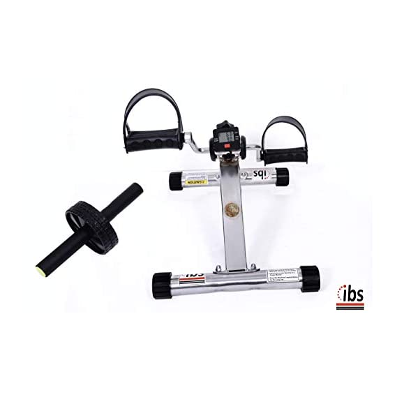 IBS Heavy Duty Mini Pedal Exercise Cycle Bike Exerciser Cum Cardio Cycle with Digital Display Fast Calories Burn Weight Loss Kit for Men & Women