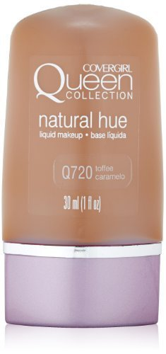 CoverGirl Queen Collection Liquid Makeup Foundation, Toffee 720, 1.0-Ounce Bottles (Pack of 2) by CoverGirl BEAUTY (English Manual)
