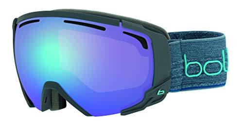 Bollé Erwachsene Supreme OTG Skibrillen Matte Dark Grey & Blue Medium/Large