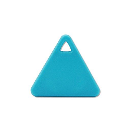 Crewell Tragbarer Bluetooth-Tracking GPS Locator Schlüsselfinder Tag Alarm für Auto Pets Kind, Blau