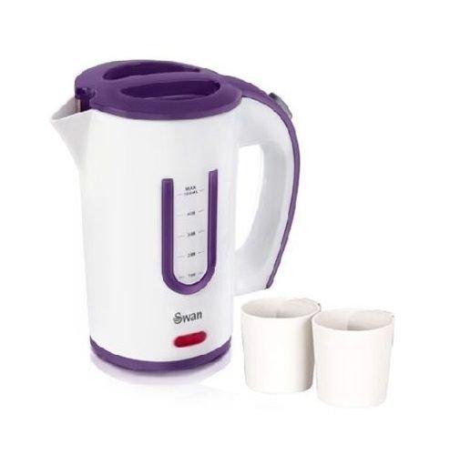 Generic uk150617-025< 1& 3681* 1> S 0,5, Tee, Kaffee und 2neue tragbare elektrische Reise Wasserkocher 0,5l Becher, 1000wtle 1000W NEU PORTABL (Tee 0)