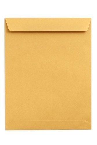Sobres de papel kraft de calidad, tamaño grande, color marrón, 254 mm (ancho) x 380 mm (largo) – Papel de stock pesado (20 unidades)