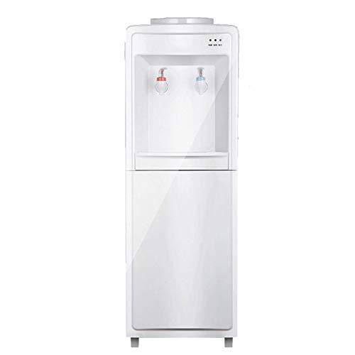 H&RB 5 Gallone Wasserkühler Spender-Top Loading Freistehende Wasserspender Mit Aufbewahrungsschrank, Zwei Temperatureinstellungen-Heiß (85 ℃-95 ℃), Normal Temperatur (10-15 ℃)