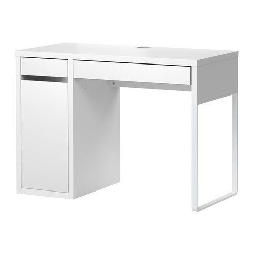 Ikea MICKE Schreibtisch in weiß; (105x50cm) - Schrank Schreibtisch Weiß