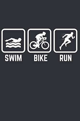 My Triathlon Training: Notebook for People enjyoing Triathlon