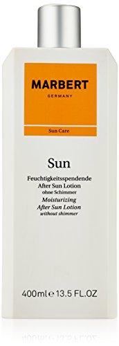 Marbert Sun Care femme/women, Moisturizing After Sun Lotion without shimmer, 1er Pack (1 x 400 ml)