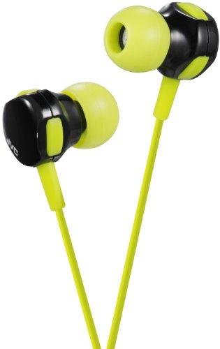 JVC 2-Wege-Hören Style in-Ear Audio Kopfhörer–PARENT ASIN grün/schwarz