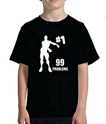 Acokaia Camiseta 99problem Switch-Fortnite Niño...
