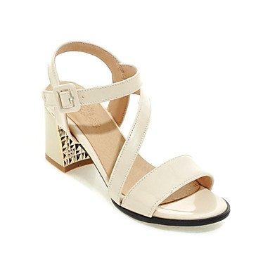 Zormey Damen Sandalen Sommer Club Schuhe Komfort Kundenspezifischen Materialien Kunstleder Büro & Amp; Karriere Dress Casual Blockabsatz Schnalle US9 / EU40 / UK7 / CN41