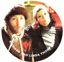 Richard and Linda Thompson's Hard Love Magnet by Barger's Boutique