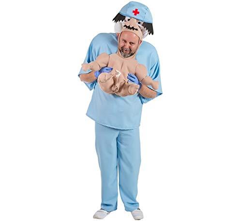 Kostüm Neugeborene in den Armen Erwachsenen (Erwachsene Armee-kostüme Für)