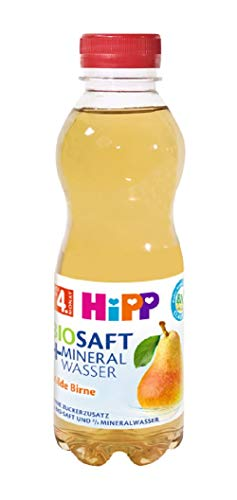 HiPP Bio-Saft Mineralwasser Milde Birne, 6er Pack (6 x 500 ml)