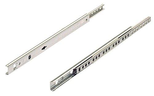 Kugelauszug für 17mm Nut 030767 Schubkastenlänge