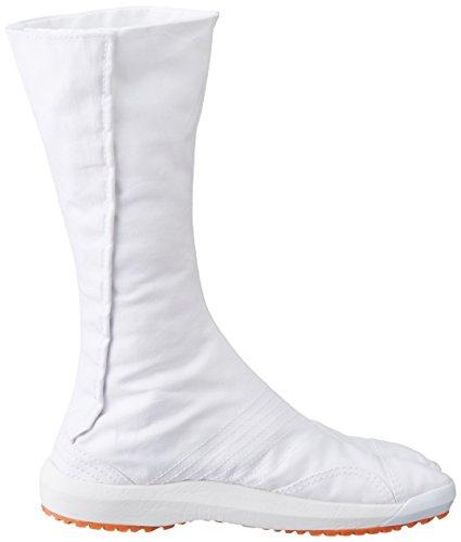 Chaussures de Ninja Air Semi-Montantes Jikatabi (Air Jog) 12 Clips Importe du Japon (Marugo) Blanc