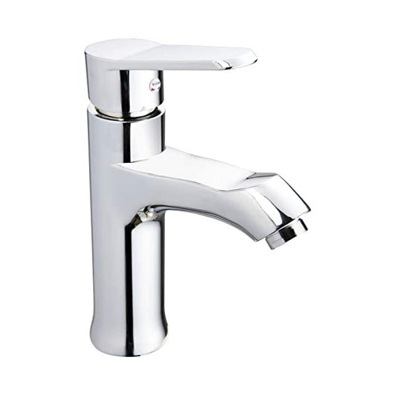 ALTON ABS Single Lever Chrome Finish, Hot and Cold Basin Mixer, 200 X 164 X 200 mm