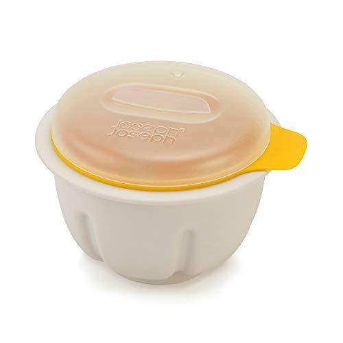 Joseph Joseph M-Poach Mikrowellen-Eier-Pochierer, weiß gelb Microwave Egg Poacher