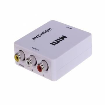 Pakhuis HDMI 1080P HDV M610 AV FBAS Composite- Um -Konverter unterstützen PAL NTSC Hdv-konverter