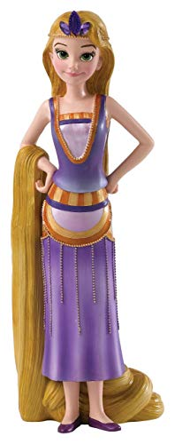 Disney Showcase Collection Rapunzel Art Deco Figurine, Stein, Multi, 8 x 6.5 x 20 cm (Disney Schuhe Tangled)