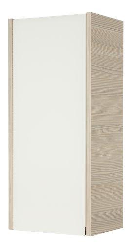 Fackelmann 83423 Hängeschrank, Holz, Pinie/Weiß, 22 x 30 x 67 cm