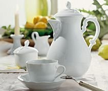 Rosenthal Hutschenreuther Maria Theresia Kaffeeservice 20-tlg Weiss