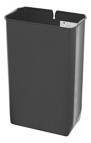Rubbermaid Slim Jim 1900896 50 Litre End Step Step-On Stainless Steel Wastebasket Rigid Liner (Rubbermaid Slim Jim Mülleimer)