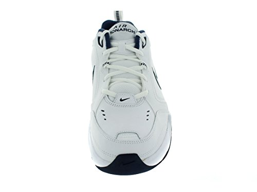 NIKE AIR MONARCH IV chaussures de course White/Midnight Navy/Metallic Silver
