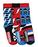 Photo de Oddsocks United 3 For Boys UK 12-6 EUR 30.5-39 Skulls par Oddsocks