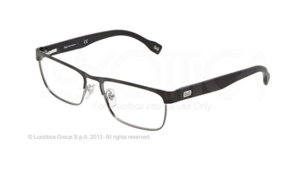 262a6c4b5a7d D g By Dolce   Gabbana Men s 5103 Matte Black   Gunmetal Frame Metal  Eyeglasses