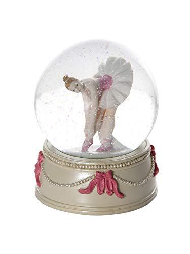 Globo de nieve decorativa con bailarina para niños y adultos ballet regalo