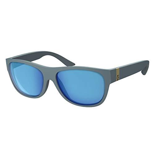 Scott Lyric Sonnenbrille grau/blau Chrom