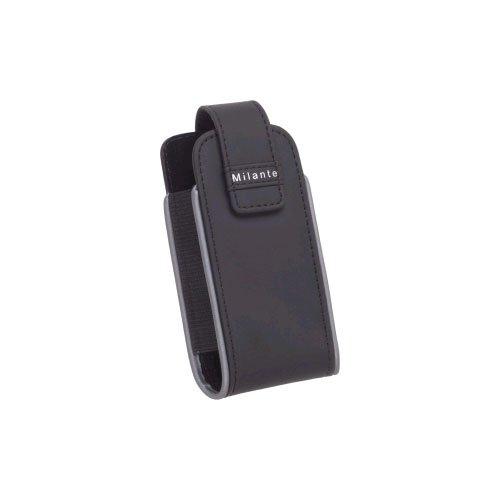 Milante-Vertikal Holster für Blackberry Pearl 8100, 8110-Schwarz Milante Blackberry