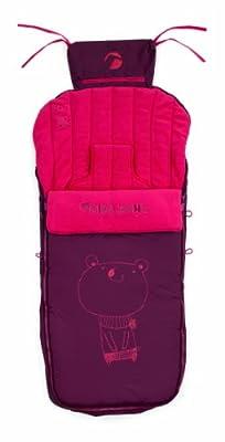 Jané Nest Plus - Saco de abrigo para sillas y carritos, color rojo (080473 R83)