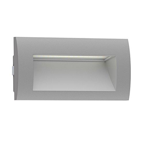 Ledscom.de LED lámpara empotrable Pared Zibal Exterior
