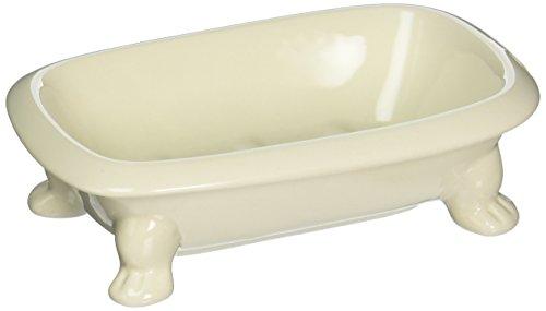 Abbott Collection Seifenschale für Badewanne, 14 cm, elfenbeinfarben -