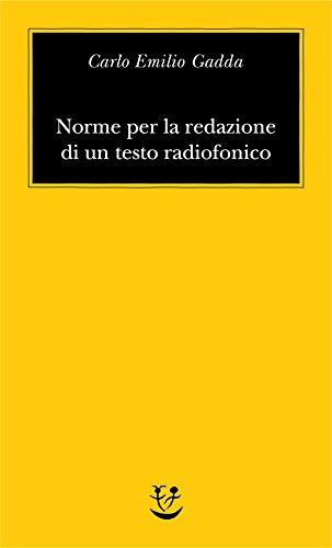 Norme per la redazione di un testo radiofonico