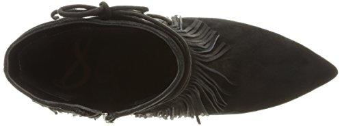 Sam Edelman Damen Marion Kurzschaft Stiefel Gold (BLACK KID SUEDE)
