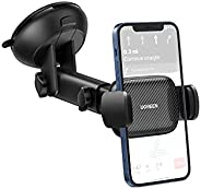 UGREEN Car Phone Mount Dashboard Car Holder Windshield Cradle Strong Suction Compatible with iPhone 13 Pro,13