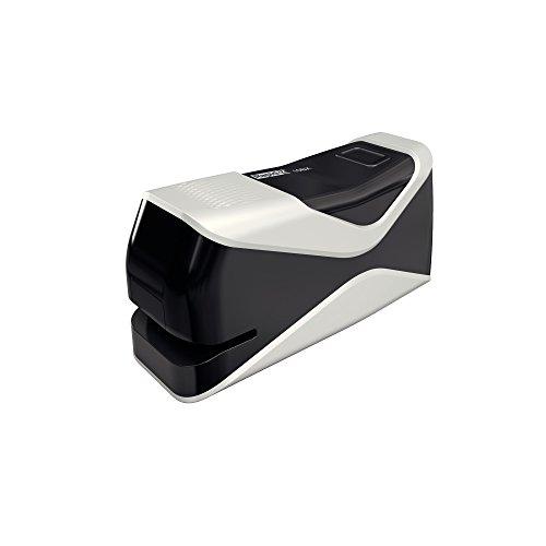 Rapid 5000294 Mobiles Elektrisches Heftgerät (10 Blatt, Metall/Kunststoff, 100E) schwarz