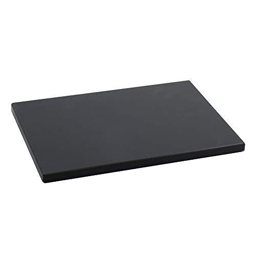 Metaltex -  Tabla de cocina, Polietileno, Negro, 33 x 23 x 1,5 cm