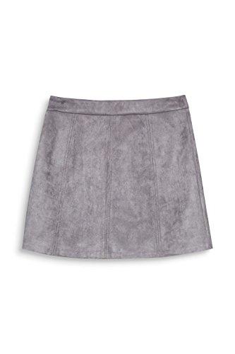 edc by ESPRIT Damen Rock Grau (Medium Grey 035)