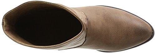 Kaporal Wesley, Boots femme Marron (93 Taupe)