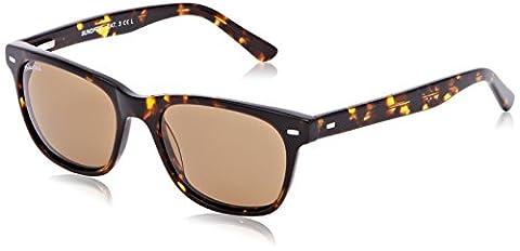 Sunoptic Unisex AP115 Sunglasses, Brown (Tortoise Shell/Green lens), One Size