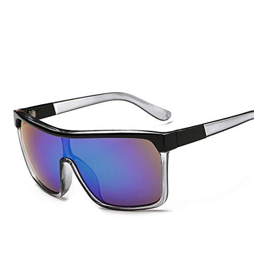 FGRYGF-eyewear Sport-Sonnenbrillen, Vintage Sonnenbrillen, VISION Square Shield Sunglasses Men Driving Male Luxury Brand Sun Glasses For Men Designer Cool Shades MIRROR Retro CJXY802 C4 Green