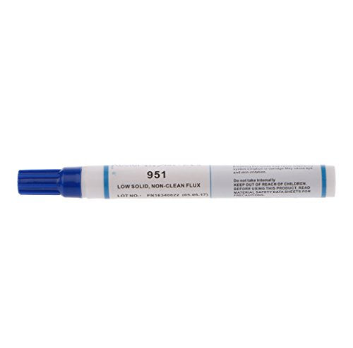 951 10ml Soldering Rosin Flux Pen Low-Solids Non-clean For Solar Cell Panel DIY -