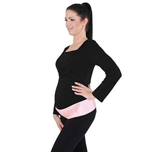 schwangerschaft bauchgurt rosa herzmutter