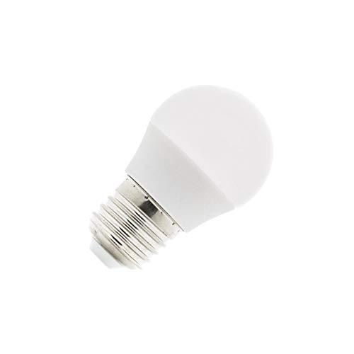 Bombilla LED E27 G45 5W Blanco Frío 6000K-6500K efectoLED