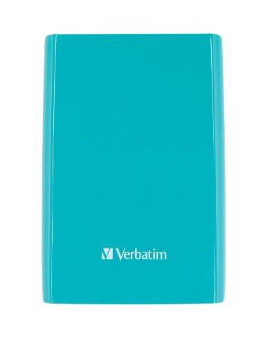 Verbatim 53174 externe Festplatte (6,4 cm (2,5 Zoll), 5400rpm, USB 3.0) blau